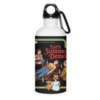 Let's Summon Demons (Black Variant) - water-bottle - small view