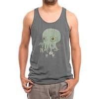 Cthulhu back to school - mens-triblend-tank - small view