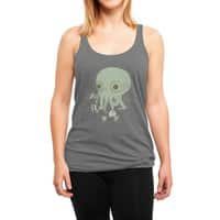 Cthulhu back to school - womens-triblend-racerback-tank - small view