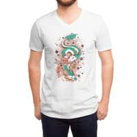 The Princess and the Dragon - vneck - small view