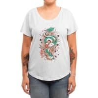 The Princess and the Dragon - womens-dolman - small view