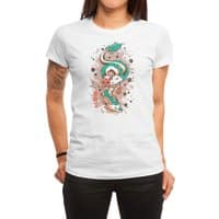 The Princess and the Dragon - womens-regular-tee - small view