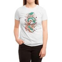 The Princess and the Dragon - womens-triblend-tee - small view
