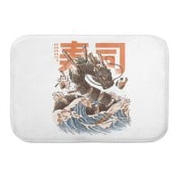 Great Sushi Dragon  - bath-mat - small view