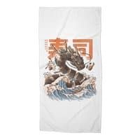 Great Sushi Dragon  - beach-towel - small view