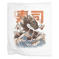 Great Sushi Dragon  - blanket - small view