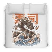 Great Sushi Dragon  - duvet-cover - small view