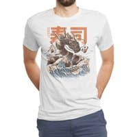 Great Sushi Dragon  - mens-triblend-tee - small view