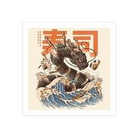 Great Sushi Dragon  - square-print - small view