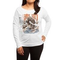 Great Sushi Dragon  - womens-long-sleeve-terry-scoop - small view