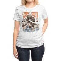 Great Sushi Dragon  - womens-regular-tee - small view