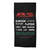 METAL FEST - beach-towel - small view