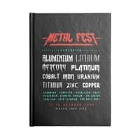 METAL FEST - notebook - small view