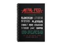 METAL FEST - spiral-notebook - small view