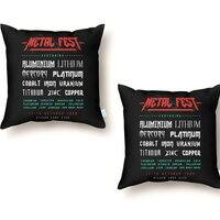METAL FEST - throw-pillow - small view