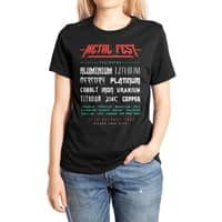 METAL FEST - womens-extra-soft-tee - small view