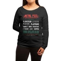 METAL FEST - womens-long-sleeve-terry-scoop - small view