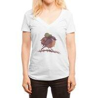 Wanderlust - womens-deep-v-neck - small view