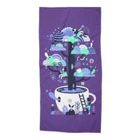 Up a tree cup - beach-towel - small view