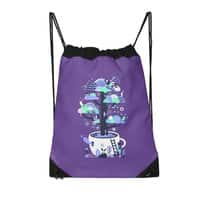 Up a tree cup - drawstring-bag - small view