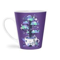 Up a tree cup - latte-mug - small view