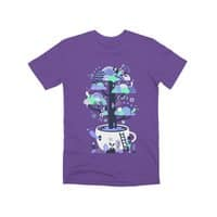 Up a tree cup - mens-premium-tee - small view