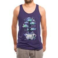 Up a tree cup - mens-triblend-tank - small view