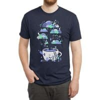 Up a tree cup - mens-triblend-tee - small view