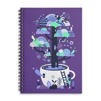 Up a tree cup - spiral-notebook - small view