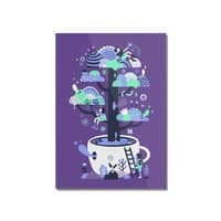 Up a tree cup - vertical-mounted-acrylic-print - small view