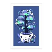 Up a tree cup - vertical-print - small view