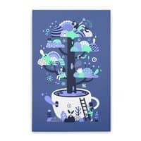 Up a tree cup - vertical-stretched-canvas - small view