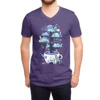 Up a tree cup - vneck - small view