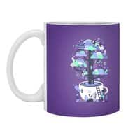 Up a tree cup - white-mug - small view