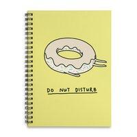 Donut Disturb - spiral-notebook - small view