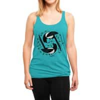 The Joy of Spring - womens-triblend-racerback-tank - small view