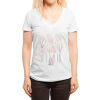 Our Cabin - womens-deep-v-neck - small view