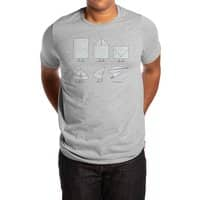 Let's Go Explore - mens-extra-soft-tee - small view