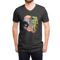Space Arcade - vneck - small view