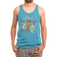 Cryptozoology - mens-triblend-tank - small view