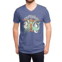 Cryptozoology - vneck - small view