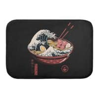 Great Ramen Wave - bath-mat - small view