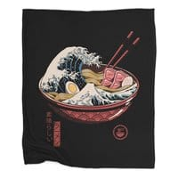 Great Ramen Wave - blanket - small view