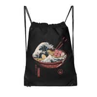 Great Ramen Wave - drawstring-bag - small view