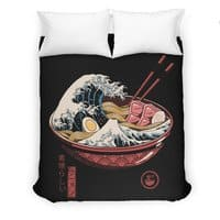 Great Ramen Wave - duvet-cover - small view