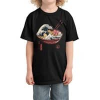 Great Ramen Wave - kids-tee - small view