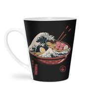 Great Ramen Wave - latte-mug - small view