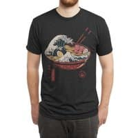 Great Ramen Wave - mens-triblend-tee - small view