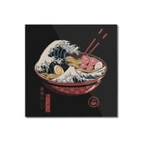 Great Ramen Wave - square-mounted-acrylic-print - small view