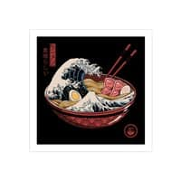 Great Ramen Wave - square-print - small view